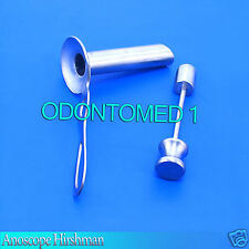 2 Anoscope Hirshman (Small & Large) Surgical OB/GYNO Instruments