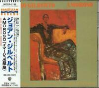 João Gilberto Amoroso JAPAN CD with OBI WPCR-1135 Joao Gilberto