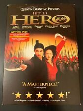 Bundle Of 2 Jet Li action dvds Hero By Quentin Tarantino & Romeo Must Die