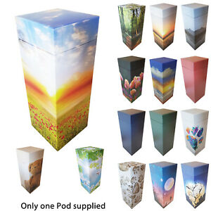 NEW! ScatterPod -  Scattering & Eco Friendly Cremation Urn -Various Size/Designs