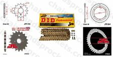Yamaha SR500 E,F,G,H -USA 78-81 DID X Ring Gold Chain Kit 16/42t 530/104