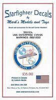 Starfighter Decals 35053 x 1/350 USS Enterprise CVN65 1982-01 for Tamiya