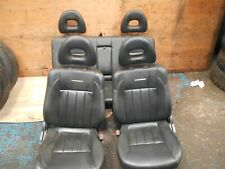 2004 MITSUBISHI L200 2.5TD LEATHER INTERIOR SEATS AND DOOR CARDS