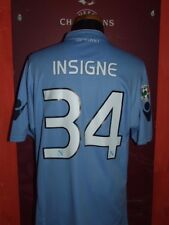 INSIGNE NAPOLI 2009/2010 MAGLIA SHIRT CALCIO SOCCER FOOTBALL JERSEY MAILLOT