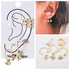 Earrings Punk Ear Studs Combination Jewelry 5Pcs Girls Fashion Alloy Eyes Star