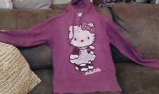Hello Kitty Girl/Woman pullover hooded sweatshirt( Used )