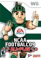 NCAA Football 09: All-Play - Nintendo  Wii Game
