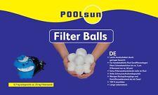 PoolSun Filter Balls 700g - Alternative für 25kg Filtersand Pool Filtermedium