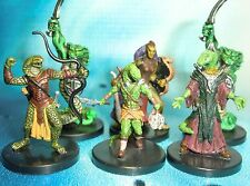 Dungeons & Dragons Miniatures Lot  Yuan-Ti Pureblood Yuan-Ti Halfblood !!  s116