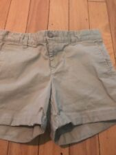 "Khakis by Gap The 4"" Short Women's Flat Front Khaki Chino Shorts Size 0"