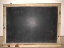 Vintage Small Rustic Framed 20�x14� Chalkboard Primitive With Chalk Ledge