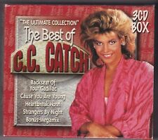 C.C.CATCH - THE ULTIMATE COLLECTION - BEST OF - 3 CD BOX - 42 TITEL + SCHUBER