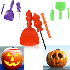 Halloween Pumpkin Decorating Kit Carving Set Vampire Party Scream Scoop Poker 🎃