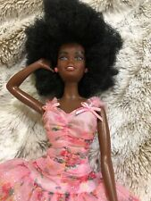 black african american barbie dolls Afro