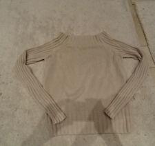 Pullover, Pulli, Strick, beige, Carmen-Kragen, Esprit, Gr. XL