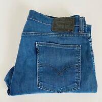 Levi's 520 Mens Straight Leg Blue Denim Jean Size W35 L32