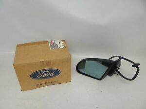 New OEM 1992-1995 Ford Mercury Power Door Rear View Mirror Left Hand Side Driver