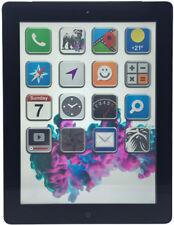 Apple iPad 3 32GB Black/Schwarz Wi-Fi & 3G 4G Cellular Tablet (N89528)