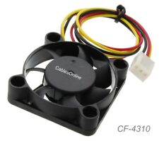 40x40x10mm 3-Pin 12V Brushless DC Cooling Fan, CF-4310