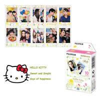 Hello Kitty Fujifilm Instax Mini Instant Film For Camera Cheki Fuji 7s 8 25