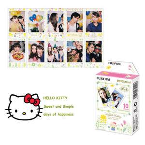 10 Sheets Hello Kitty Fujifilm Instax Mini Instant Film For Camera Fuji 7s 8 25