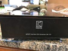 Keces Da-131 DAC24/192 PCM1793 DAC Gold Plated Copper IEC Upgrade Digital Analo