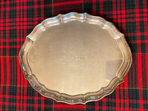 "Vintage - Gorham -Chippendale -# 41620 - Sterling Silver- Dresser Tray - 7 1/2"""