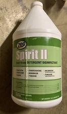 Zep Spirit 2 Detergent Disinfectant Gallon Gst