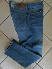 G Star Raw 3301 Straight Tapered Jeans 36-30 w/Stretch Med Vintage Age NWT $180