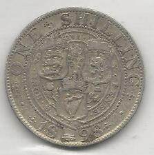 GREAT BRITAIN, 1898, SHILLING,  SILVER,  KM#780,  VERY FINE ( See Notes )
