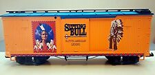 G SCALE LGB 44637 SITTING BULL BOXCAR - NEVER USED