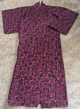 EUC Authentic Vintage Japanese Kimono, winter weight GORGEOUS!