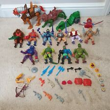 Vintage 1980's Masters of the Universe Bundle Inc complete Battle Cat & He-Man