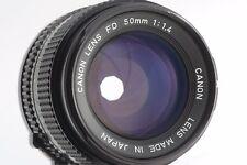 [Near Mint] Canon New FD 50mm F/1.4 MF Lens NFD from japan