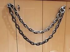2m/6ft cadena falso Rusty Cadenas Decoración de Halloween Escena Setter bloqueado