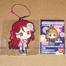 Official Love Live! Sunshine vol.3 rubber mascot keychain - Riko Sakurauchi NEW