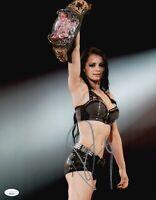 Saraya-Jade Bevis PAIGE Signed WWE 11x14 SEXY Photo DIVA Champ Autograph JSA COA