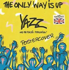 Yazz - The Only Way Is Up / Bad House Music (Postercover) (Red Vinyl-Single) !!!