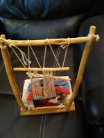**AWESOME NATIVE AMERICAN NAVAJO WEAVER DOLL  VINTAGE  HAND MADE VERY NICE!!**
