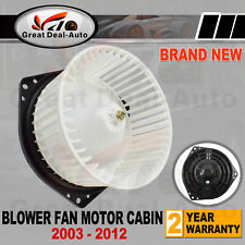 BLOWER FAN MOTOR CABIN For Holden Rodeo RA RC Colorado D-MAX 2003-2012