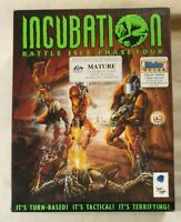 Incubation: Battle Isle Phase Four PC CD-ROM 1997 Blue Byte Big Box Complete VGC