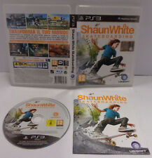 Console Game Gioco SONY Playstation 3 PS3 PAL ITA - SHAUN WHITE SKATEBOARDING -