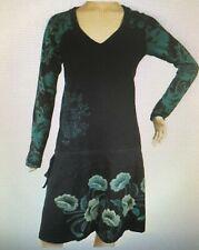 Desigual Womens Size XL TS Mirande 06V2835 Navy Womens Side String Dress