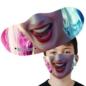 Inspired By Harley Quinn Face Mask Washable Reusable Printed Face Cover