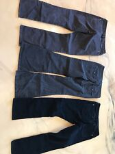 3 Pair Lot Gap Corduroy Size 12 And 31 / 16 Blue Grey