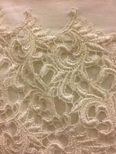 White House Black Market $148.00 Lace Pencil Skirt Ivory Size 4 NWT NEW