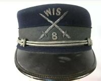 Span-Am War US Army M1895 Enlisted Forage Cap Kepi Hat - Wisconsin Volunteers #2