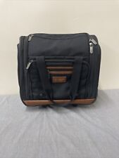 """ORIGINAL PENGUIN Wheeled Under The Seat Carry On Bag 15""""  Black FS Bnfts Charity"""