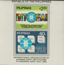 Philippines 1983 Souvenir Sheet #1633a Org. of Supreme Audit Institutions - MNH