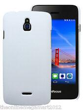 Premium White Slim Hybrid Hard Back Case/Cover/Pouch for Infocus M2  M 2